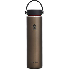 Hydro Flask Wide Mouth Trail Lightweight Gourde Avec BouchonFlex Cap 709ml, obsidian